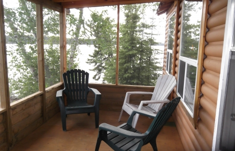 Birch Lake Lodge - Cabin #1 Screened Deck