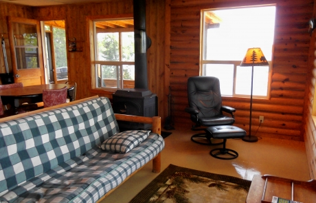 Birch Lake Lodge - Cabin #1 Living Room