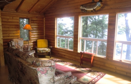 Birch Lake Lodge - Cabin #10 Living Room